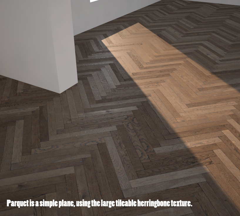 Vintage herringbone parquet tutorial and free maps for Wood floor map